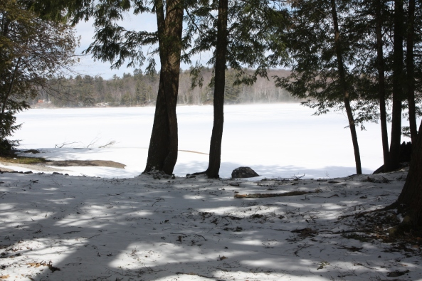 Brandy Lake April 2 2013