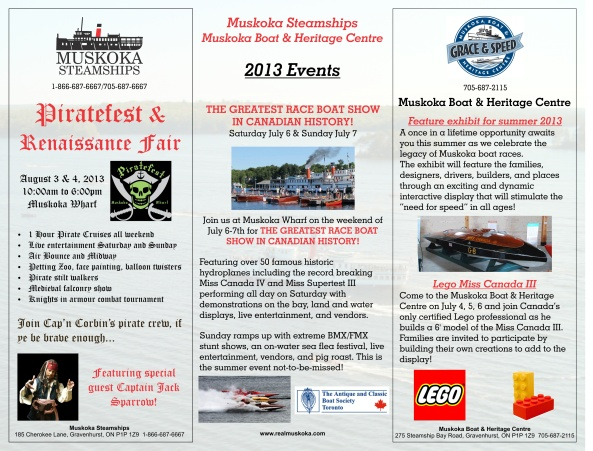 Lake Associations Event Flyer