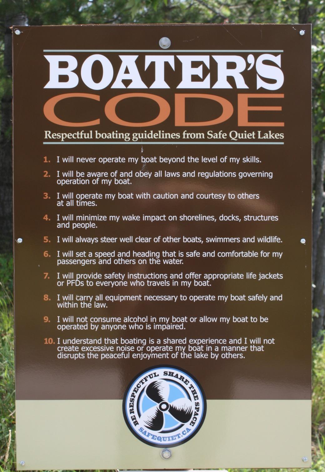 Boat Launch Safe Quiet